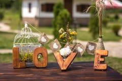 Lettera di amore Fotografie Stock
