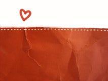lettera di amore - priorità bassa Immagini Stock Libere da Diritti