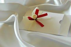 Lettera di invito Fotografia Stock