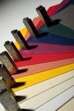 Lettera di tipografia fotografia stock libera da diritti