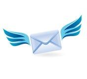 Lettera di volo - concetto di vettore Immagini Stock