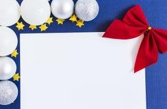 Lettera per Santa Fotografie Stock Libere da Diritti