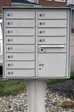 Lettera - posta - contenitori di alberino Fotografia Stock Libera da Diritti