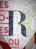 Lettera R Immagini Stock Libere da Diritti