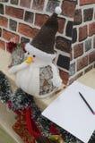 Lettera a Santa Claus Fotografia Stock Libera da Diritti