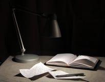 Lettera scritta a mano Fotografia Stock