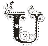 Lettera U illustrazione vettoriale
