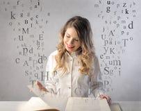 Letteratura Fotografia Stock