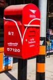Letterbox在泰国 库存图片