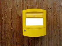 letterbox瑞士 库存图片