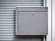 Letterbox. Modern letterbox at an office in rome Royalty Free Stock Image