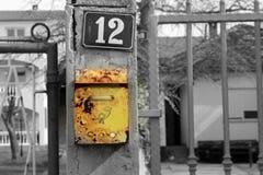 letterbox Fotografía de archivo