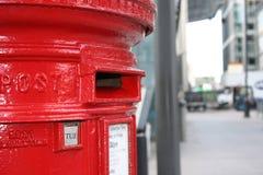 letterbox czerwień Zdjęcie Stock