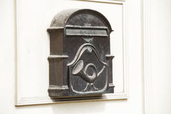 Letterbox in the old style. Letterbox in the old style, the old design of mailbox Royalty Free Stock Images