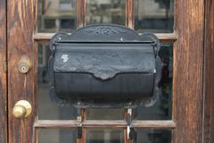 Letterbox velho Fotos de Stock