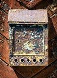 Letterbox velho Imagem de Stock