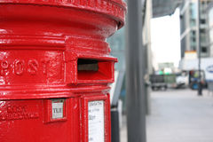 Letterbox vermelho Foto de Stock
