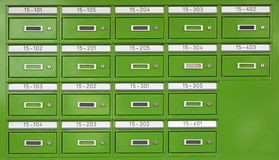 Letterboxes Royalty Free Stock Photo
