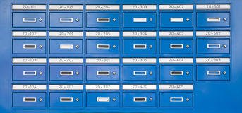 Letterboxes Royalty Free Stock Image