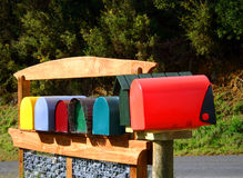Letterboxes Royalty Free Stock Images