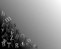 Lettere Immagine Stock