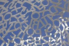 lettere Fotografie Stock Libere da Diritti