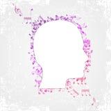 Lettere cape Fotografia Stock