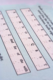 Lettere del Braille Fotografie Stock Libere da Diritti