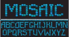 Lettere del mosaico Fotografia Stock Libera da Diritti