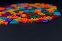 Lettere dell'alfabeto del giocattolo Fotografie Stock Libere da Diritti