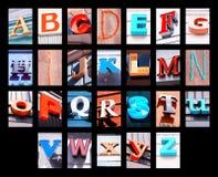 Lettere della città Fotografia Stock Libera da Diritti
