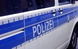 Lettere della polizia Fotografie Stock