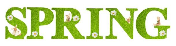 Lettere della primavera Immagini Stock