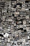 Lettere di composizione Fotografia Stock Libera da Diritti