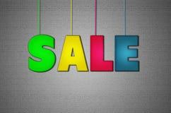 Lettere di vendita illustrazione vettoriale