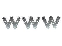 Lettere di WWW Immagine Stock Libera da Diritti