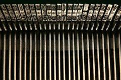 Lettere e numeri Fotografie Stock