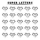 Lettere eccellenti - stile del tatuaggio Immagine Stock