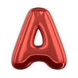 Lettere gonfiabili dell'alfabeto 3d Fotografia Stock Libera da Diritti