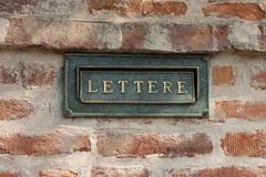 Lettere Stock Photos