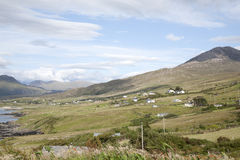 Lettergesh Village, Connemara National Park, County Galway Stock Photos