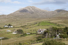 Lettergesh Village, Connemara National Park, County Galway Stock Image