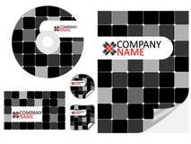 letterhead конструкции Стоковая Фотография RF