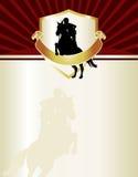letterhead лошади Стоковые Фото