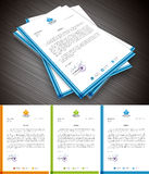 Letterhead Royalty Free Stock Photography