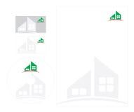 letterhead szablon Zdjęcie Stock