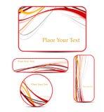 letterhead szablon Obrazy Royalty Free