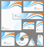 Letterhead template design Royalty Free Stock Image