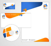 Letterhead Template design -  Stock Photography