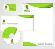 Letterhead Template design - vector Stock Photography